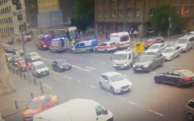 Авария на Тартуском шоссе.