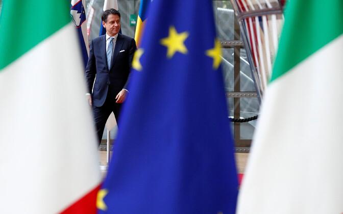 Itaalia peaminister Giuseppe Conte.