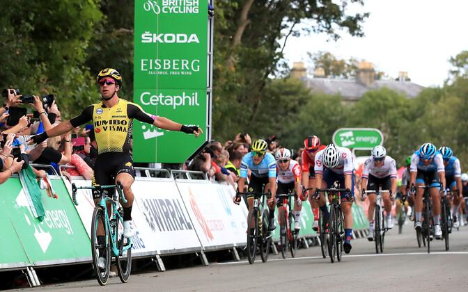 Briti velotuuri viienda etapi lõpplahendus