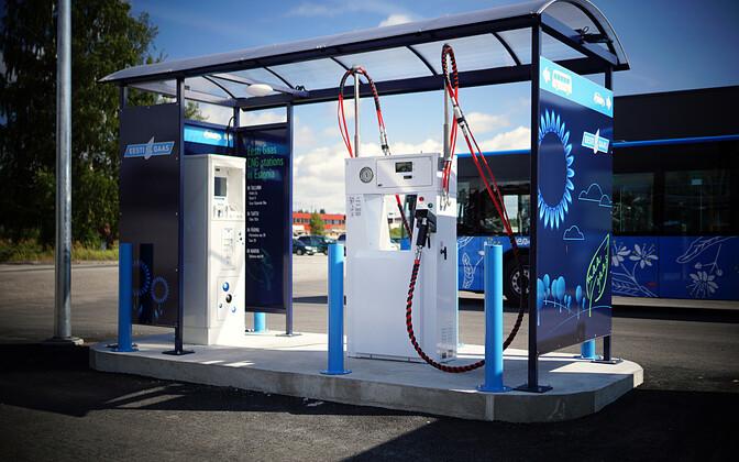 В Эстонии на газе ездит мало автомобилей.