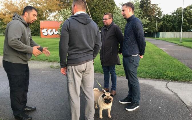 Проверка владельцев собак в Хааберсти