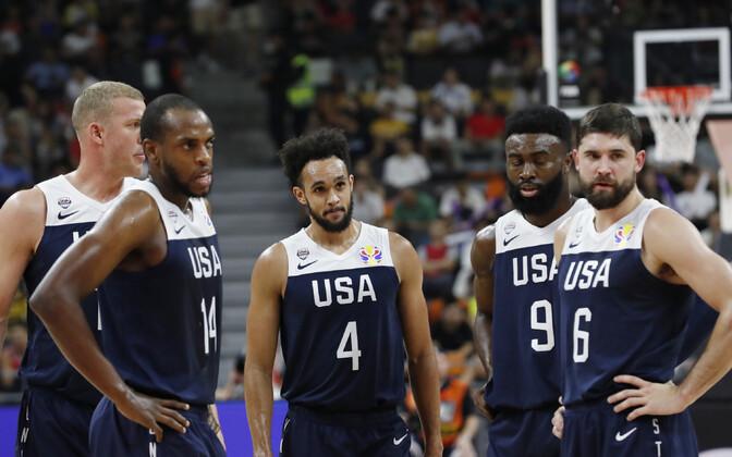 Pettunud USA korvpallikoondislased