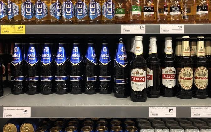 Alkoholi hinnad poodides seisuga juuni 2019