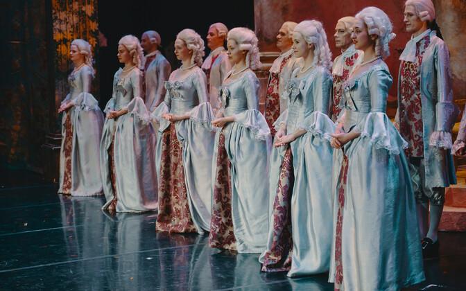Estonia on jätkuvalt külastatuim teater.