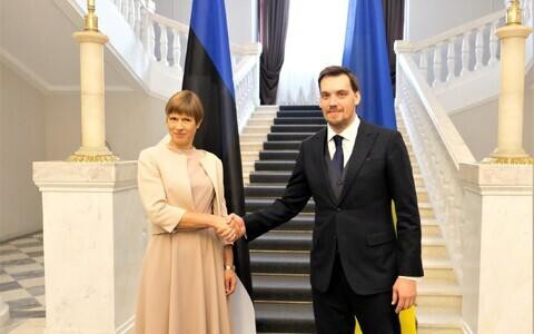 Керсти Кальюлайд и Алексей Гончарук.