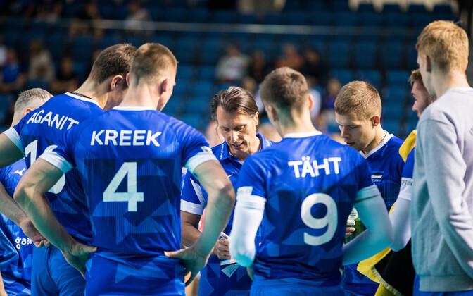 Gheorghe Cretu ja Eesti võrkpallikoondis