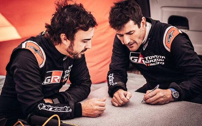 Fernando Alonso ja Marc Coma