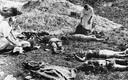 Saksa õhuväe reidi ajal Poolas kuulipildujatulega tapetud tsiviilisikud, peamiselt naised. 1939, septembri algus.