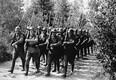 Pärast 17. septembrit 1939 Poolas. Nõukogude sõdurid marsivad kontrolli alla võtma seda osa riigist, mis salaleppega määratud NSV Liidule.