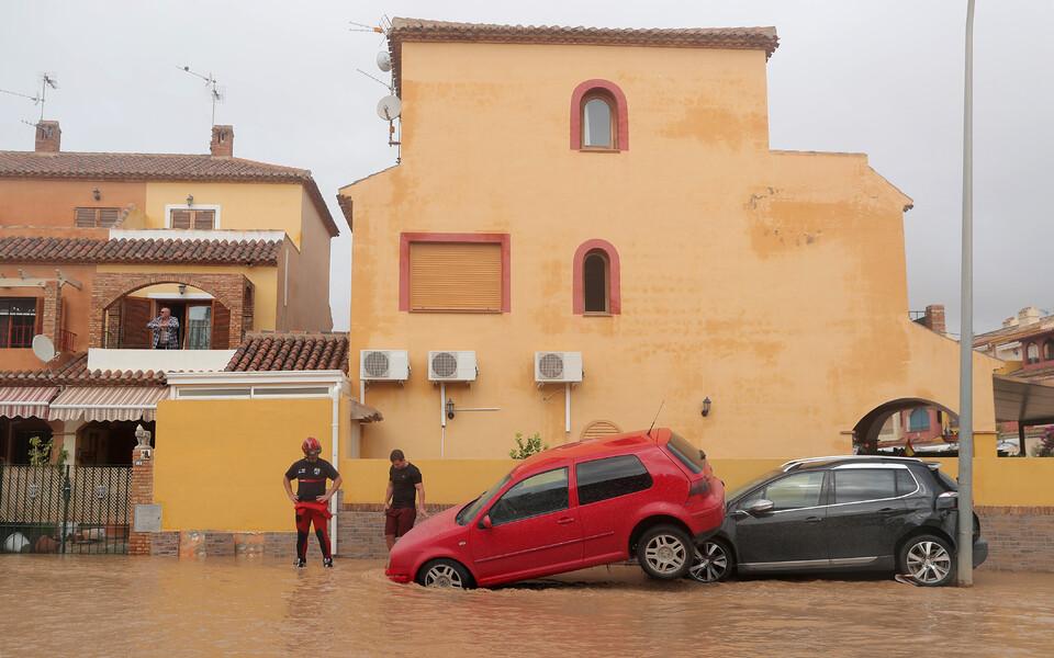 Наводнение на юго-востоке Испании.