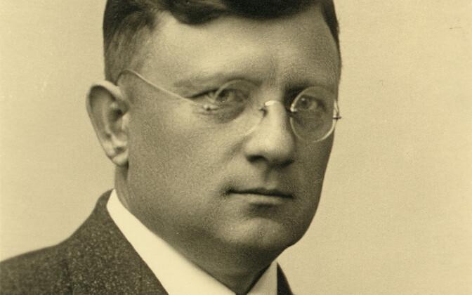 Riigikontrolör Karl Soonpää (Soonberg) 1930. aastate lõpus.