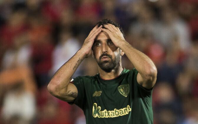 Bilbao Athleticu poolkaitsja Raul Garcia mängus Mallorca vastu