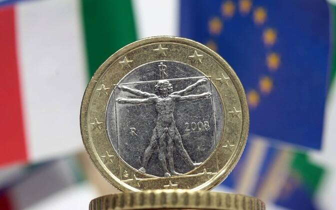 Itaalia euromünt.