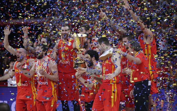 Hispaania korvpallikoondis