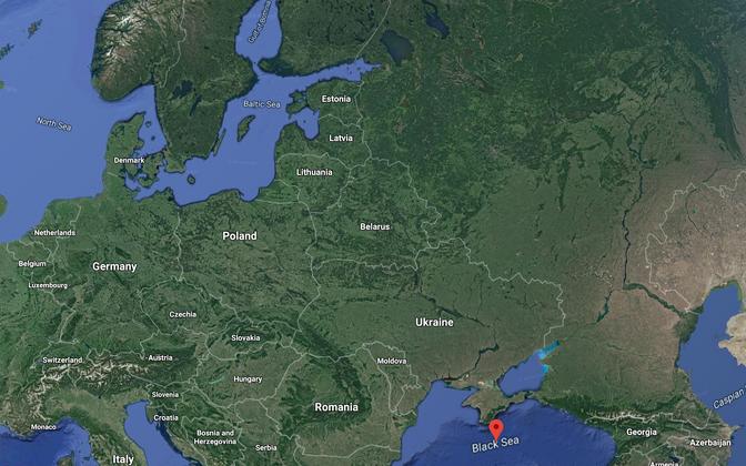 Ukraina vaeb ambitsioonikat projekti rajada jõgede abil veetee Mustalt merelt Läänemerele