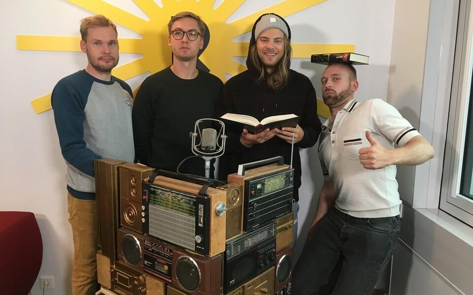 Margus Kamlat, Sander Mölder, Daniel Levi & Daniel Viinalass