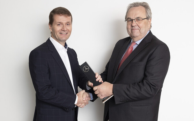 Veho CEO Juha Ruotsalainen and Väino Kaldoja