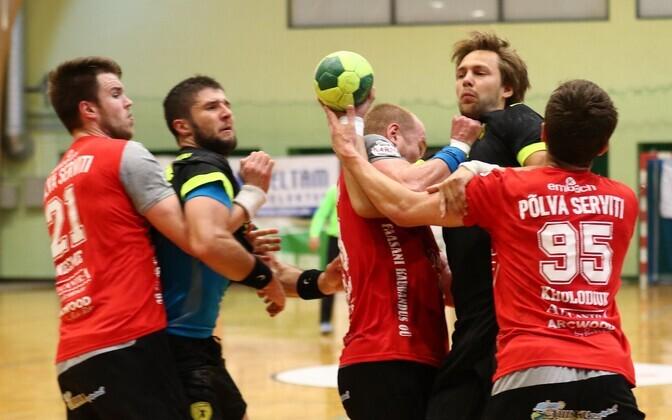 Hetk mullusest finaalist Põlva Serviti ja HC Tallinna vahel. Tänavune esimene omavaheline võitlus on kolmapäeval Kalevi spordihallis.