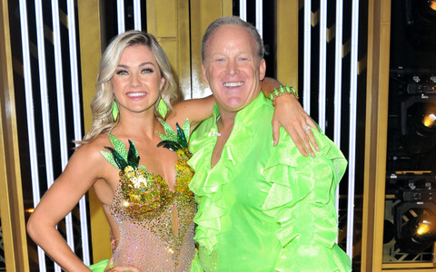 Tantsija Lindsay Arnold ja Sean Spicer