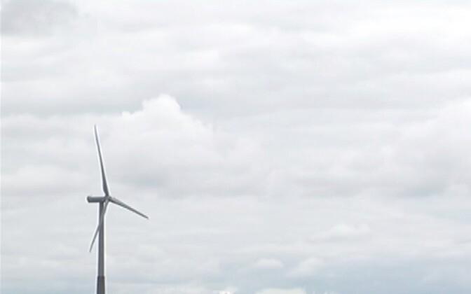 Tuulegeneraator. Foto on illustreeriv.
