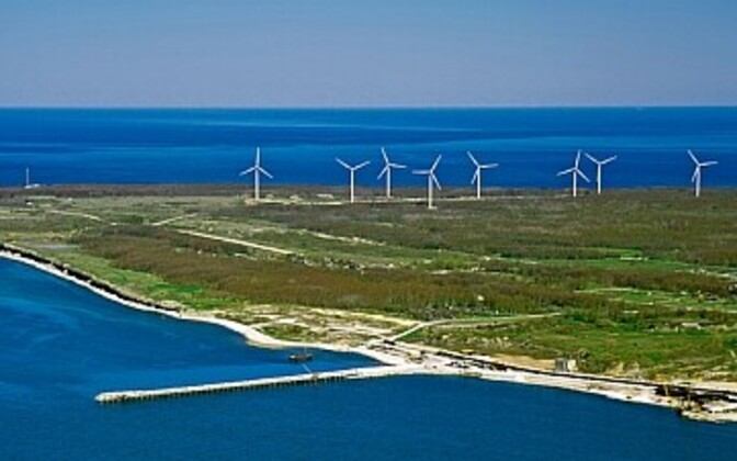 Pakri Wind Farm. Photo is illustrative.