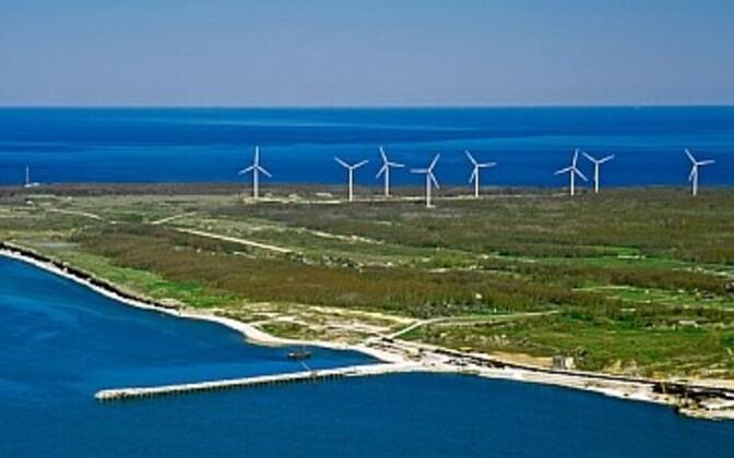 Pakri tuulepark. Foto on illustreeriv.