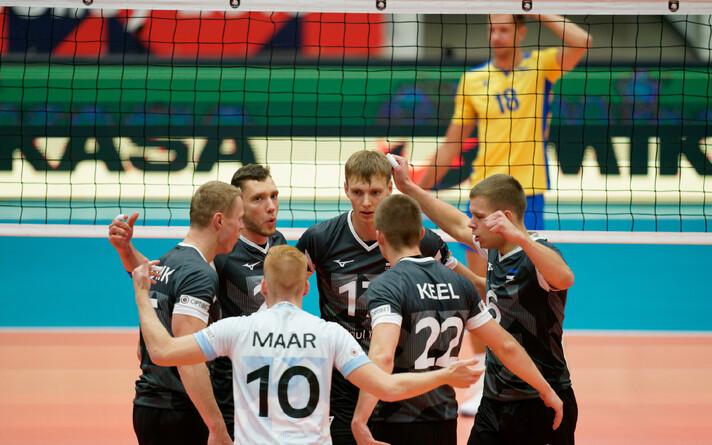 Сборная Эстонии по волейболу.