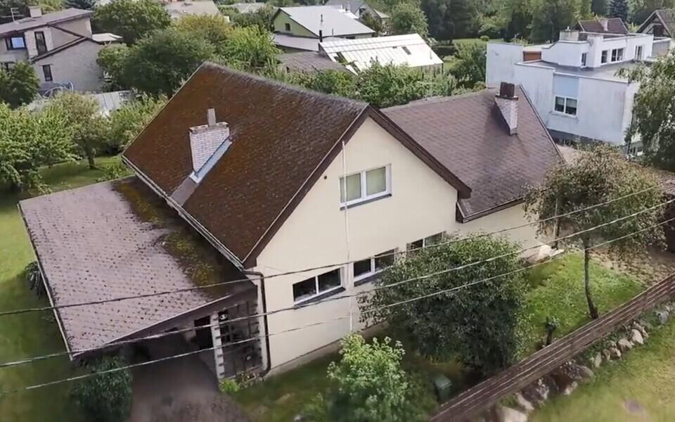 Maja, mille ümber peretüli keerleb.