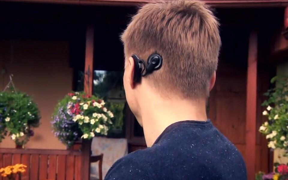 Tanel Visnap, kellel on kuulmiseks sisekõrva implantaat.