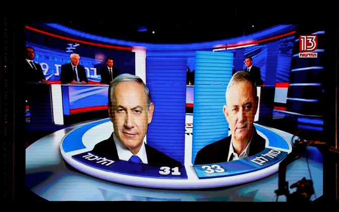 Benjamin Netanyahu ja Benny Gantz