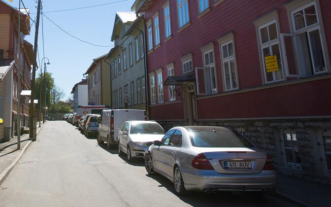 Kalamaja urban region in Tallinn