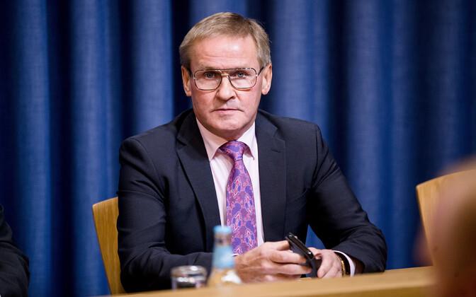 Valitsuse väljasõiduistung Eesti Pangas