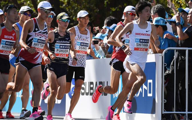 Tokyo olümpiamängude eel peeti maratoni testjooks