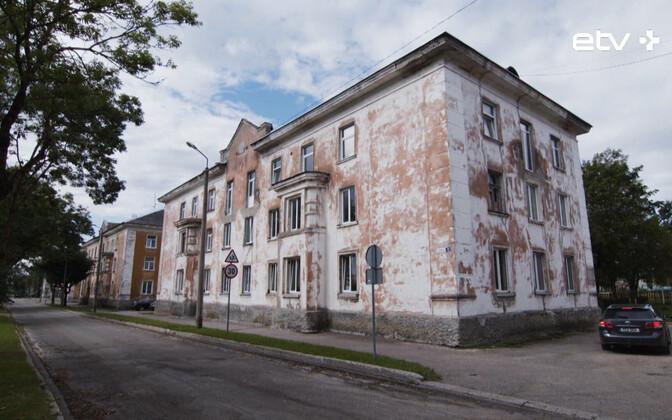 Avariiline maja Kohtla-Järvel Lehola 12