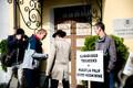 Päästjate pikett Stenbocki maja ees, Martin Helme
