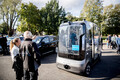 Автомобили будущего в Таллинне.