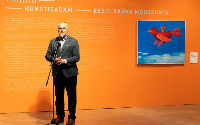 Osa Jaan Manitski erakunstikogust jõudis ERMi.