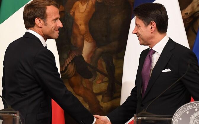 Президент Франции Эммануэль Макрон и премьер-министр Италии Джузеппе Конте хотят изменить миграционную политику ЕС.