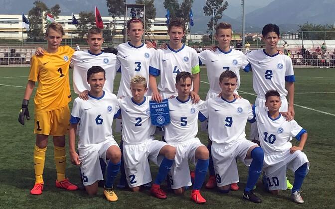 Eesti U-15 jalgpallikoondis