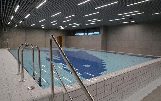 Swimming pool of Tallinn's Sõle Sports Facility