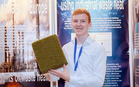 Jonatan Carl Persson loodab vähendada tööstuse jääksoojuse kasulikuks muutmisega maailma veepuudust.
