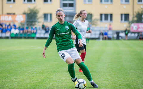 FC Flora mängija Kelly Rosen