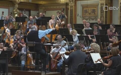 ERSO proov Musikvereinis.