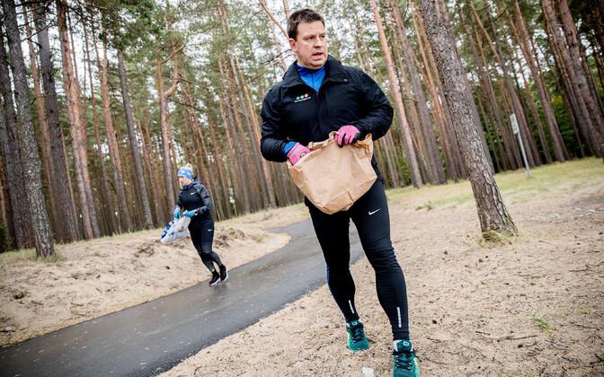 Jüri Ratas 2019. aasta maailmakoristuspäeval.