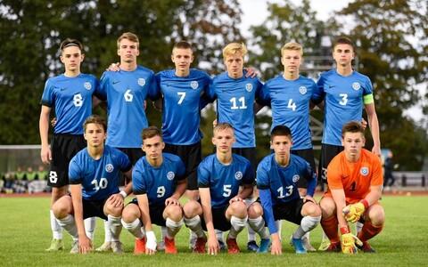Eesti U-17 jalgpallikoondis