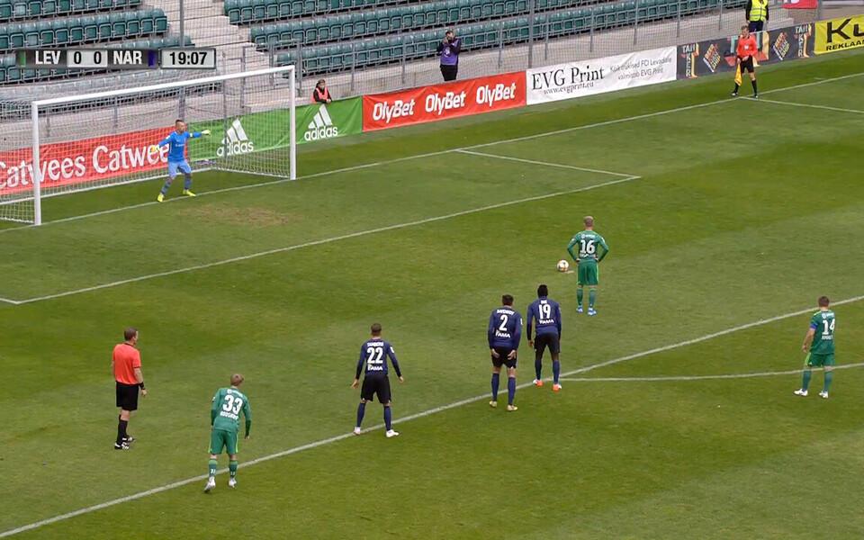 Markus Jürgenson penaltit löömas