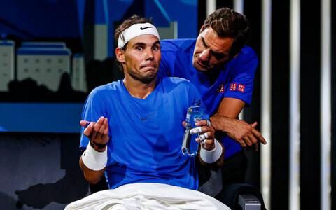 Rafael Nadal ja Roger Federer