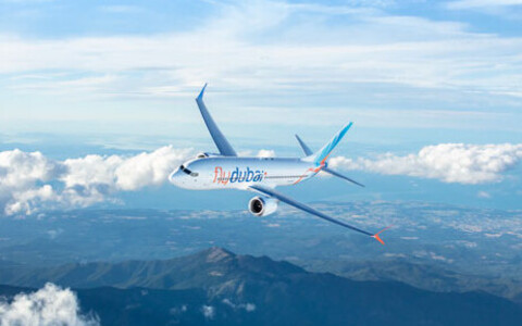 Самолет Flydubaiю