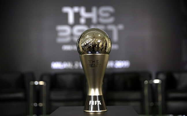 "Auhinnagala ""FIFA The Best 2019"" karikas"