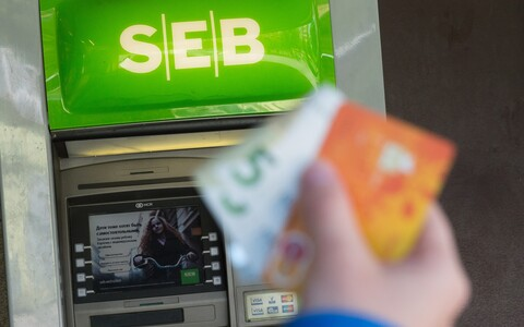 SEB cash machine (picture is illustrative).